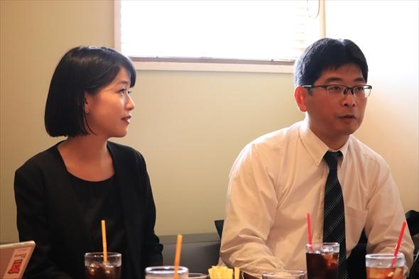 今回は「笹塚ボウル」3Fのカフェレストランでお話を伺いました