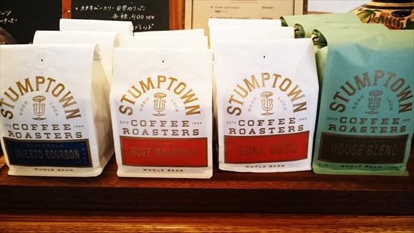 「Stumptown Coffee Roasters」の豆を購入することもできます。