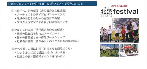 北渋festivalのイベント資料